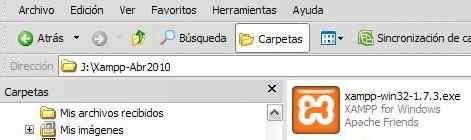 Descargar e instalar Xampp 5.6.12 para Windows