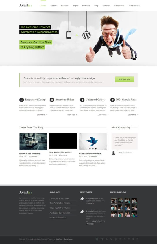Comparativa Avada Themeforest vs Elegant themes