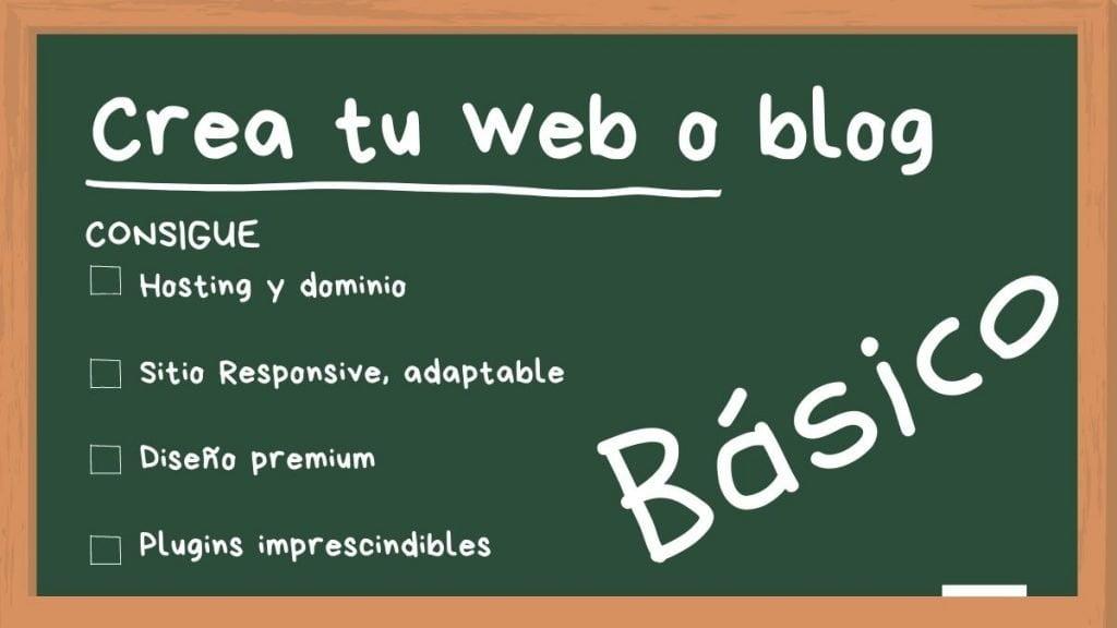 Curso Crea tu propia web o blog en menos de 10 minutos